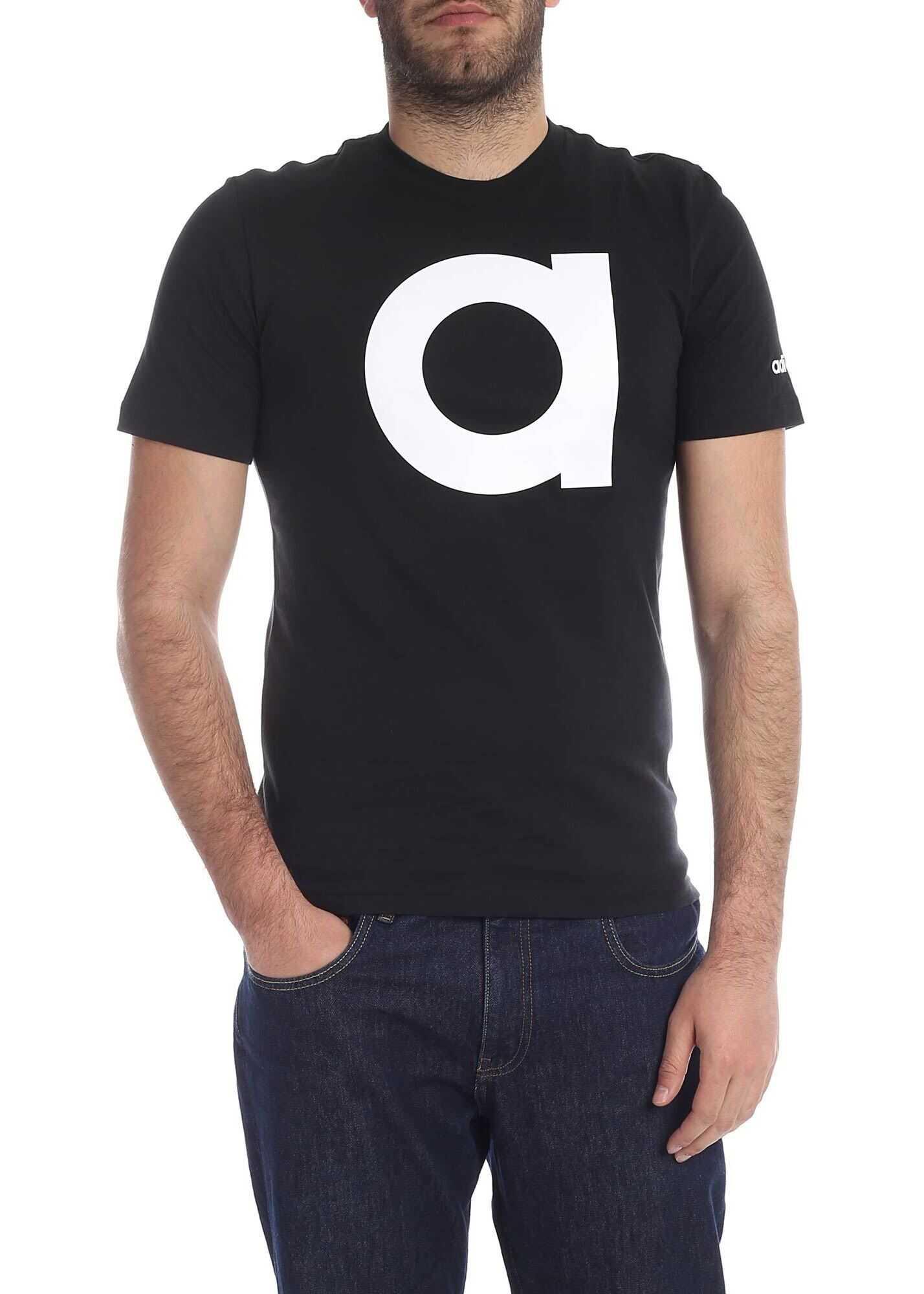 adidas Essentials T-Shirt In Black Black