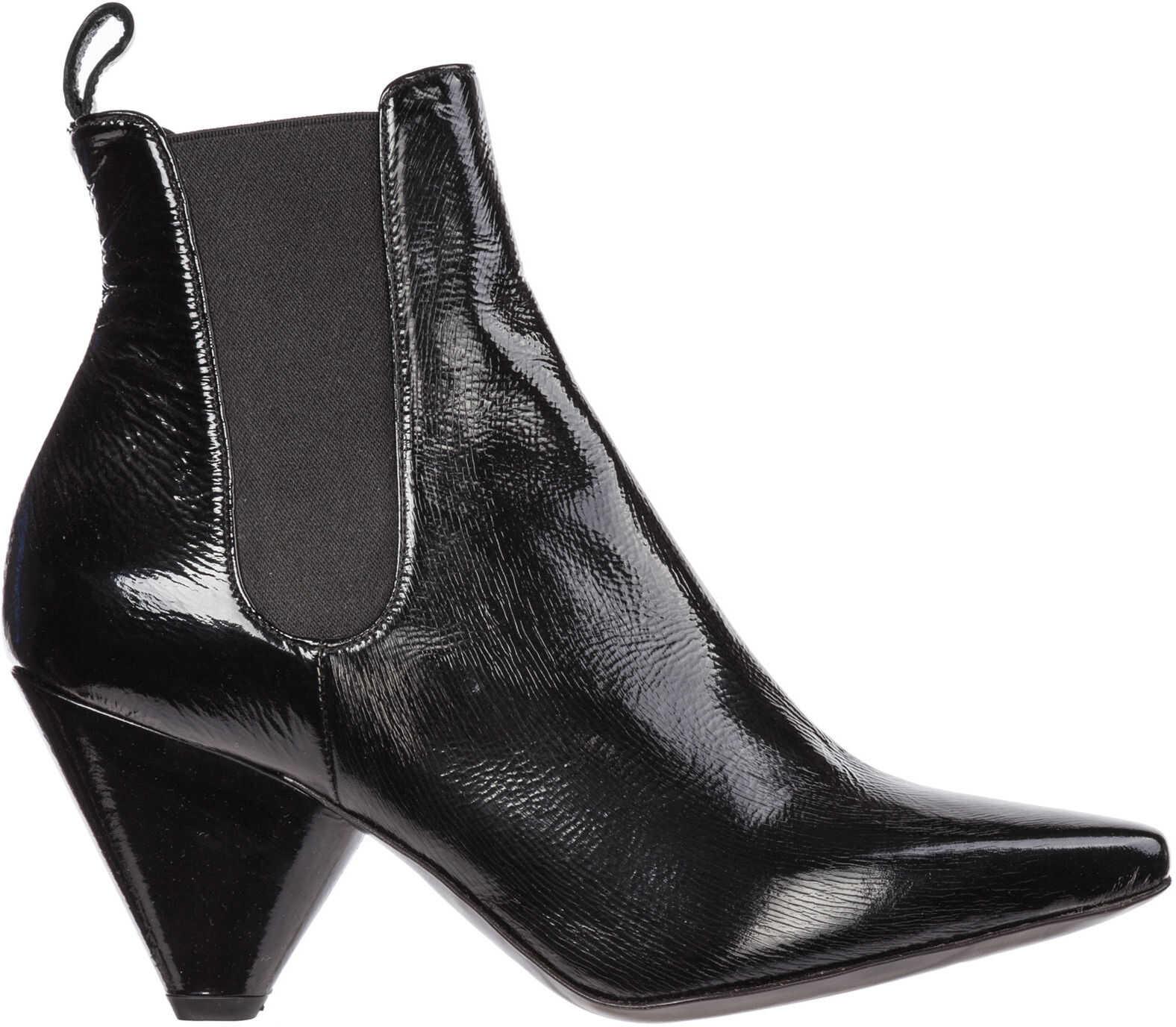 Premiata Boots Booties M4925 Black imagine b-mall.ro