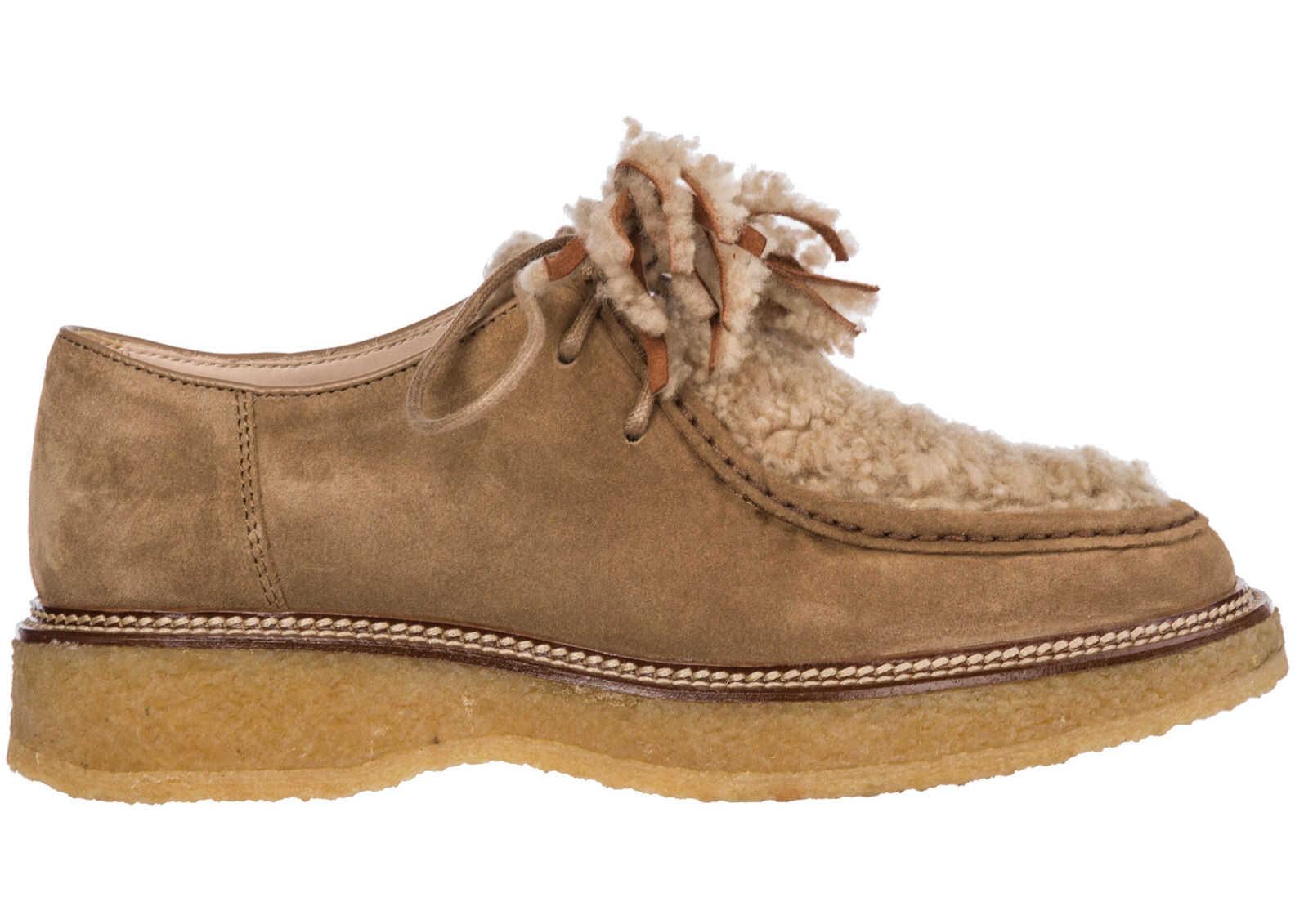 TOD'S Formal Shoes XXW30B0AK41JZB1Y28 Beige imagine b-mall.ro
