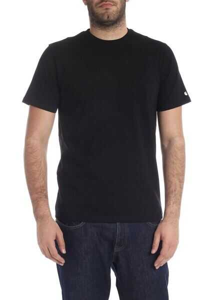 Tricouri Barbati Carhartt Base T-Shirt In Black