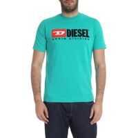 Tricouri Just Division T-Shirt In Dark Aquamarine Barbati