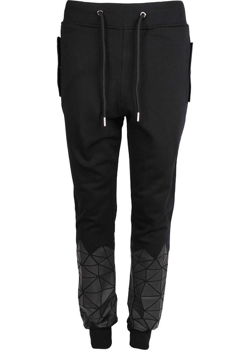 Frankie Morello Sweatpants FMCS8036 Czarny imagine