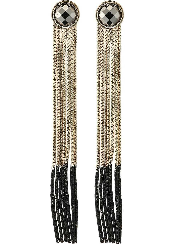 Steve Madden Fringe Earrings Multi