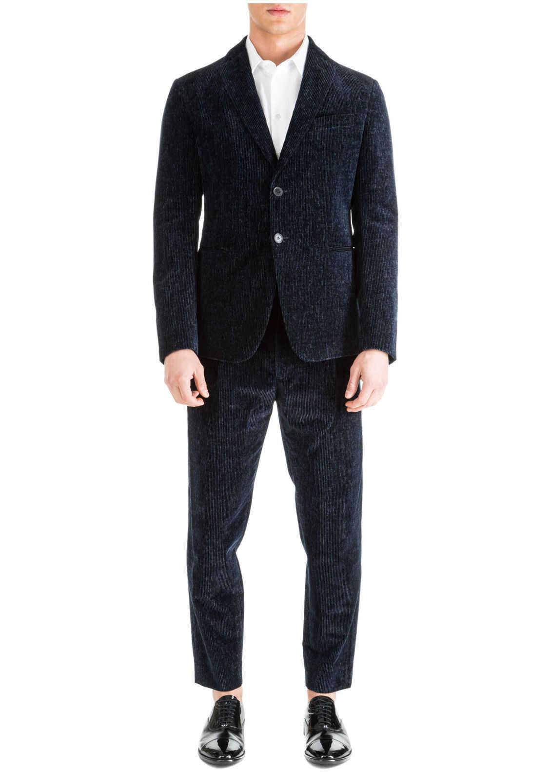 Emporio Armani Suit Blue imagine