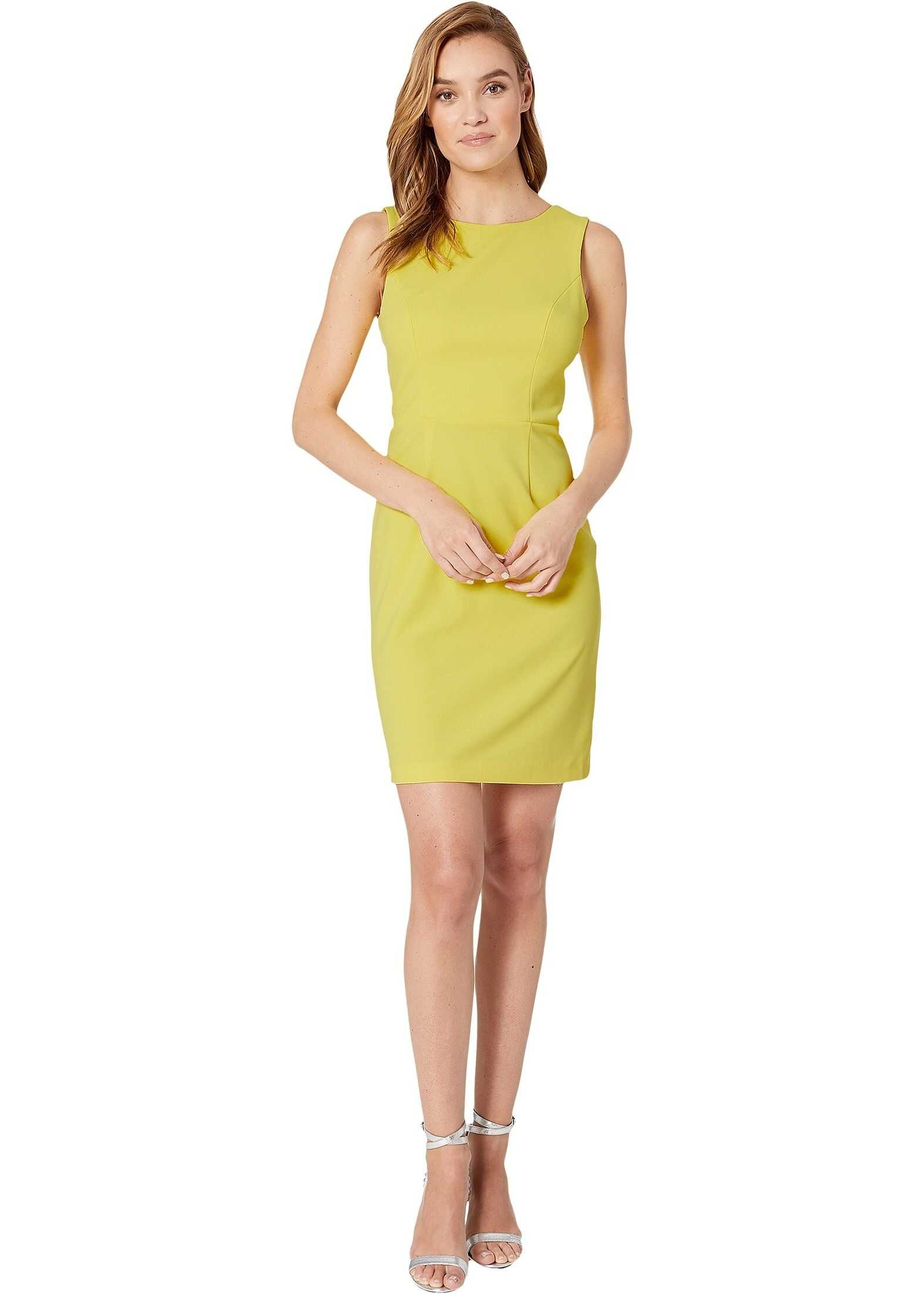 Betsey Johnson Scuba Crepe Cross-Back Dress New Spring Sun