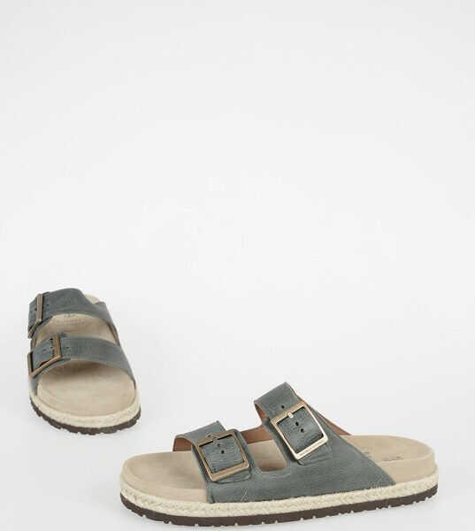 Sandale Barbati Brunello Cucinelli Leather Sandal