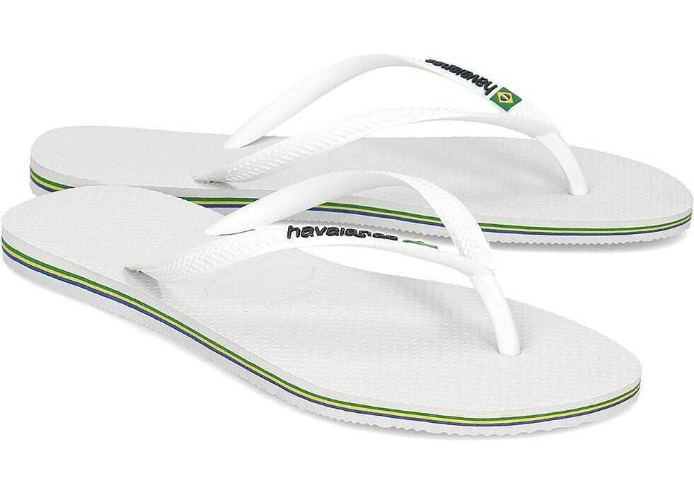 Havaianas SL Brasil Biały
