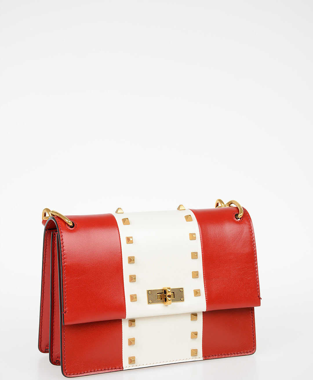 Bally Leather MOXIE Top Handle Bag RED