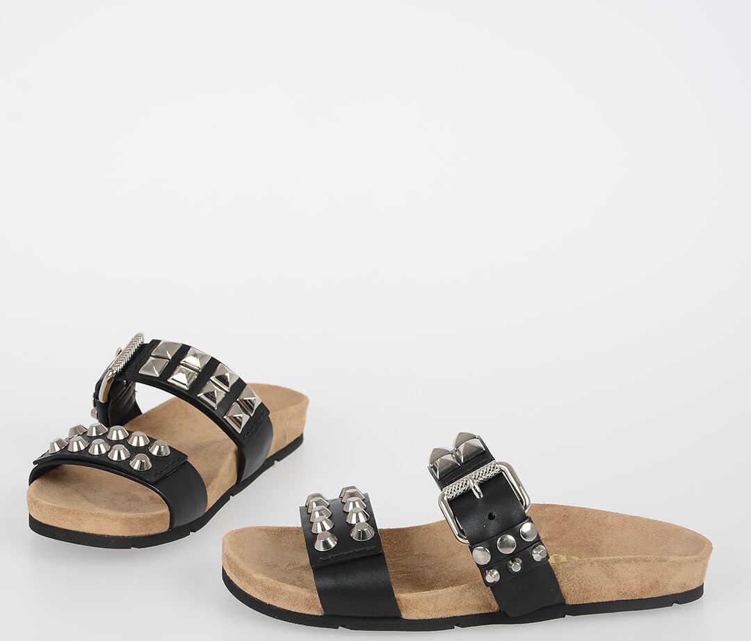 Prada Studded Sandals N/A