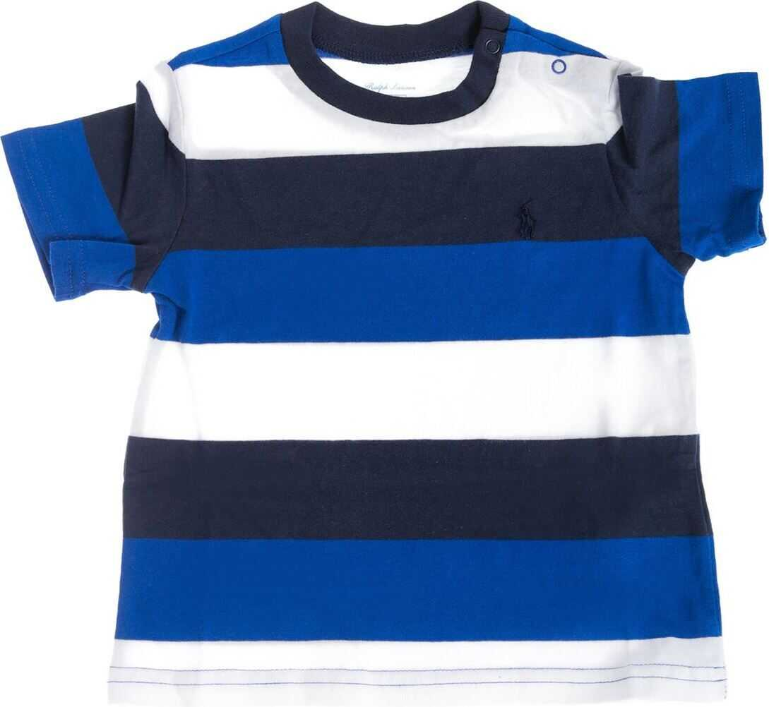 Striped T-Shirt In Shades Of Blue