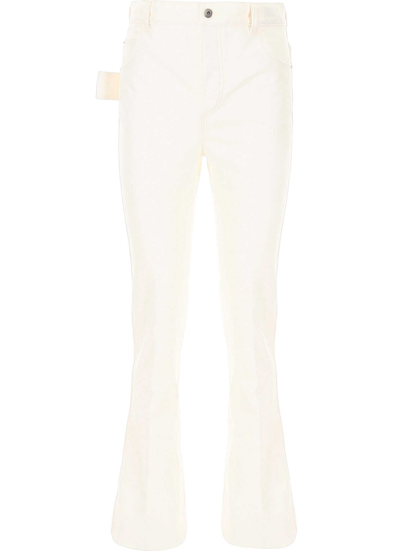 Bottega Veneta Flared Jeans BIANCO