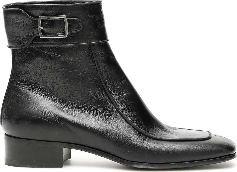 Saint Laurent Miles Boots NERO