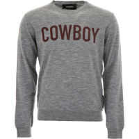 Pulovere casual DSQUARED2 Cowboy Pullover