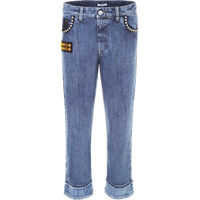 Blugi Jeans With Crystals And Studs Femei