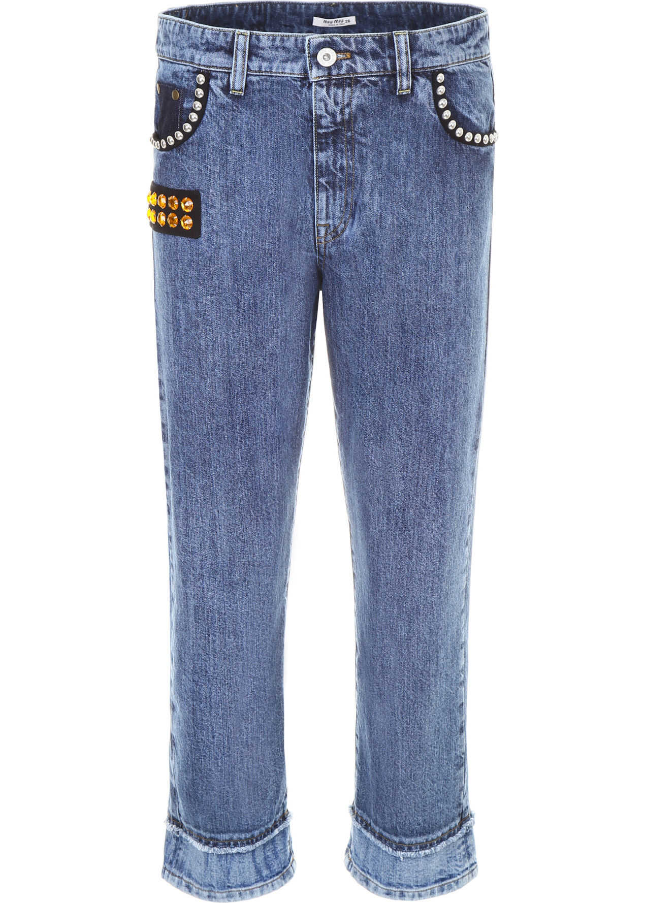 Jeans With Crystals And Studs