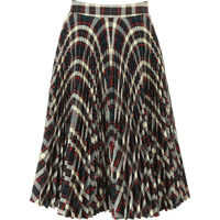 Fuste Pleated Check Skirt Femei