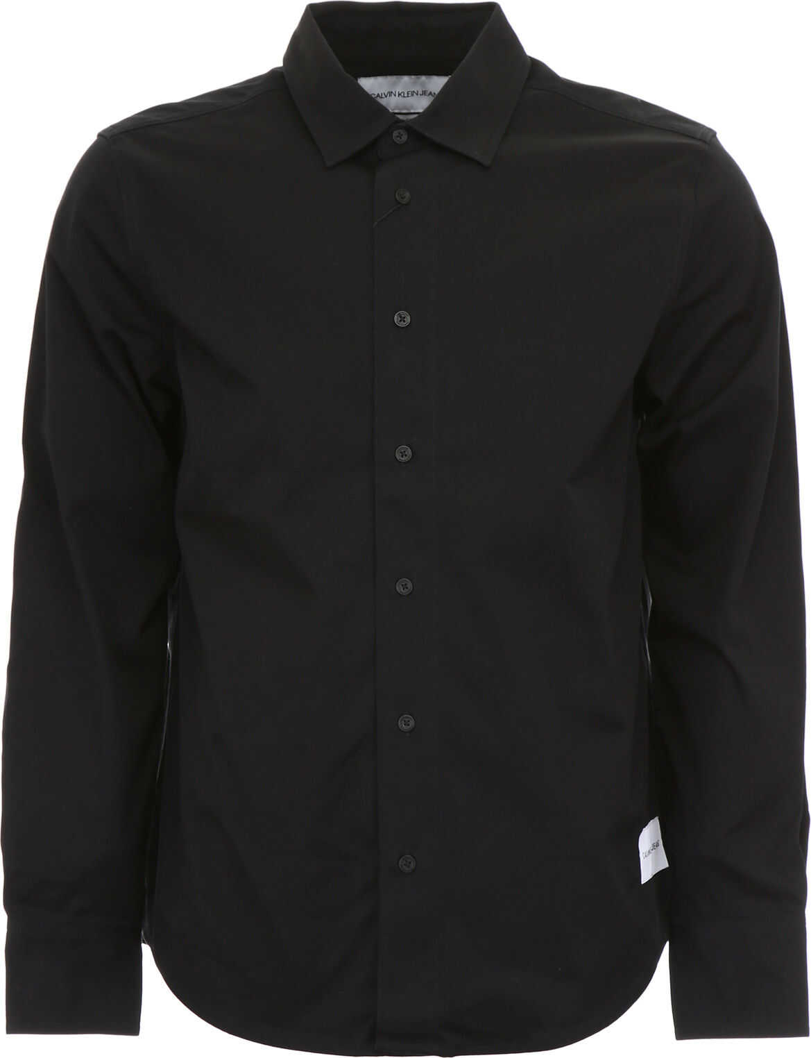 Calvin Klein Jeans Worker Shirt With Print CK BLACK