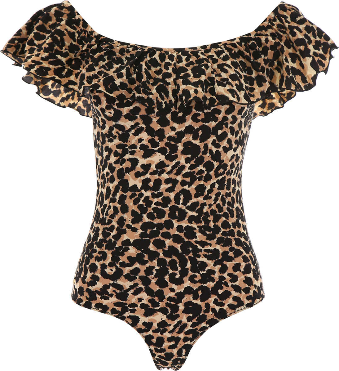 Love Stories Leopard-Printed Jazzy Swimsuit BROWN