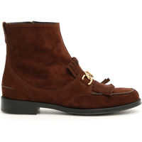 Botine Double T Boots With Fringe Femei