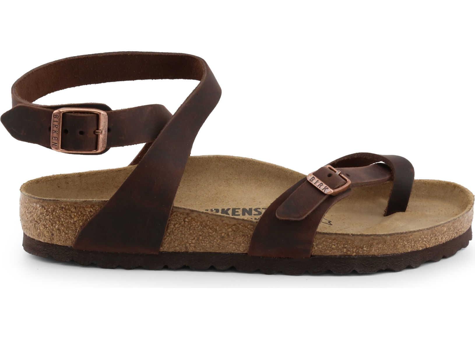 Birkenstock Yara_Oiled-Leather BROWN