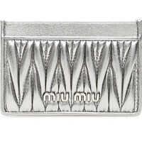 Portofele Silver-Laminated Cardholder Femei