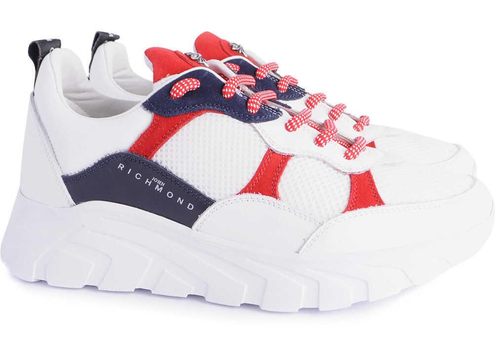 John Richmond Sport 7001 Biały, Czerwony