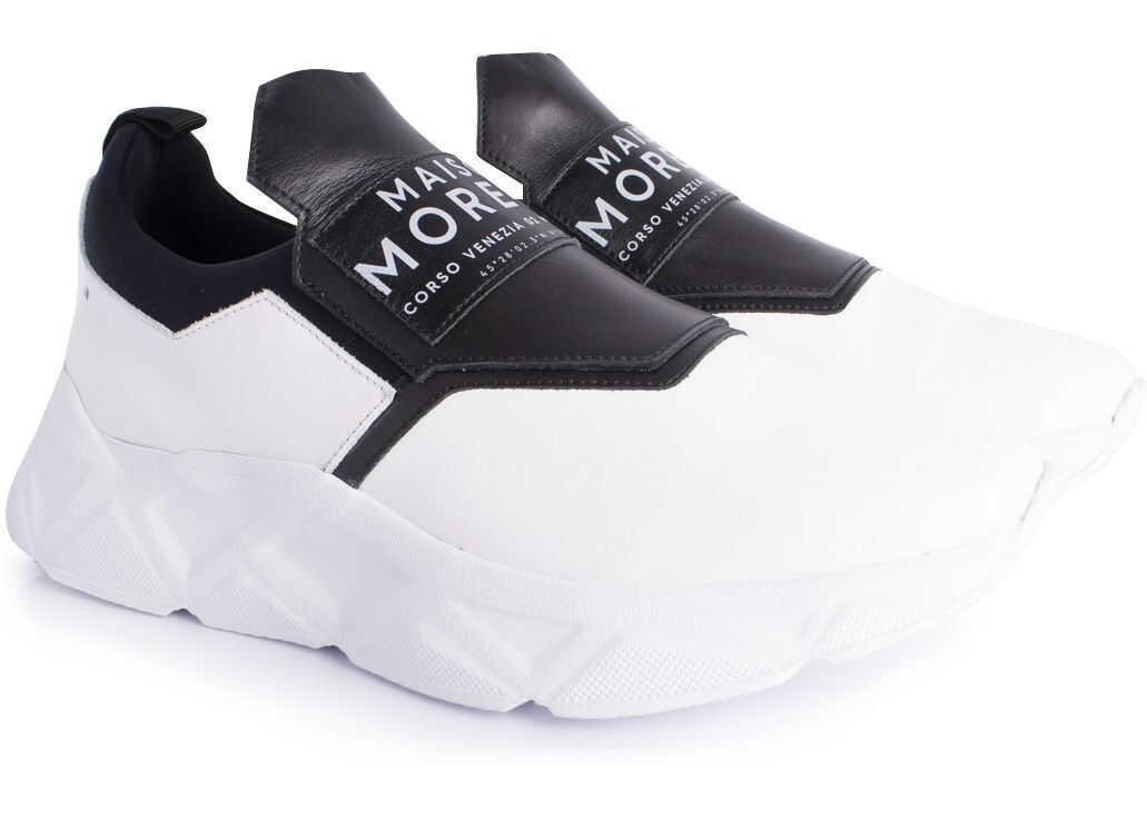 Frankie Morello Sport 7215 Czarny, Biały