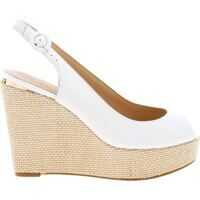 Sandale Hardy Wedges In White Leather Femei