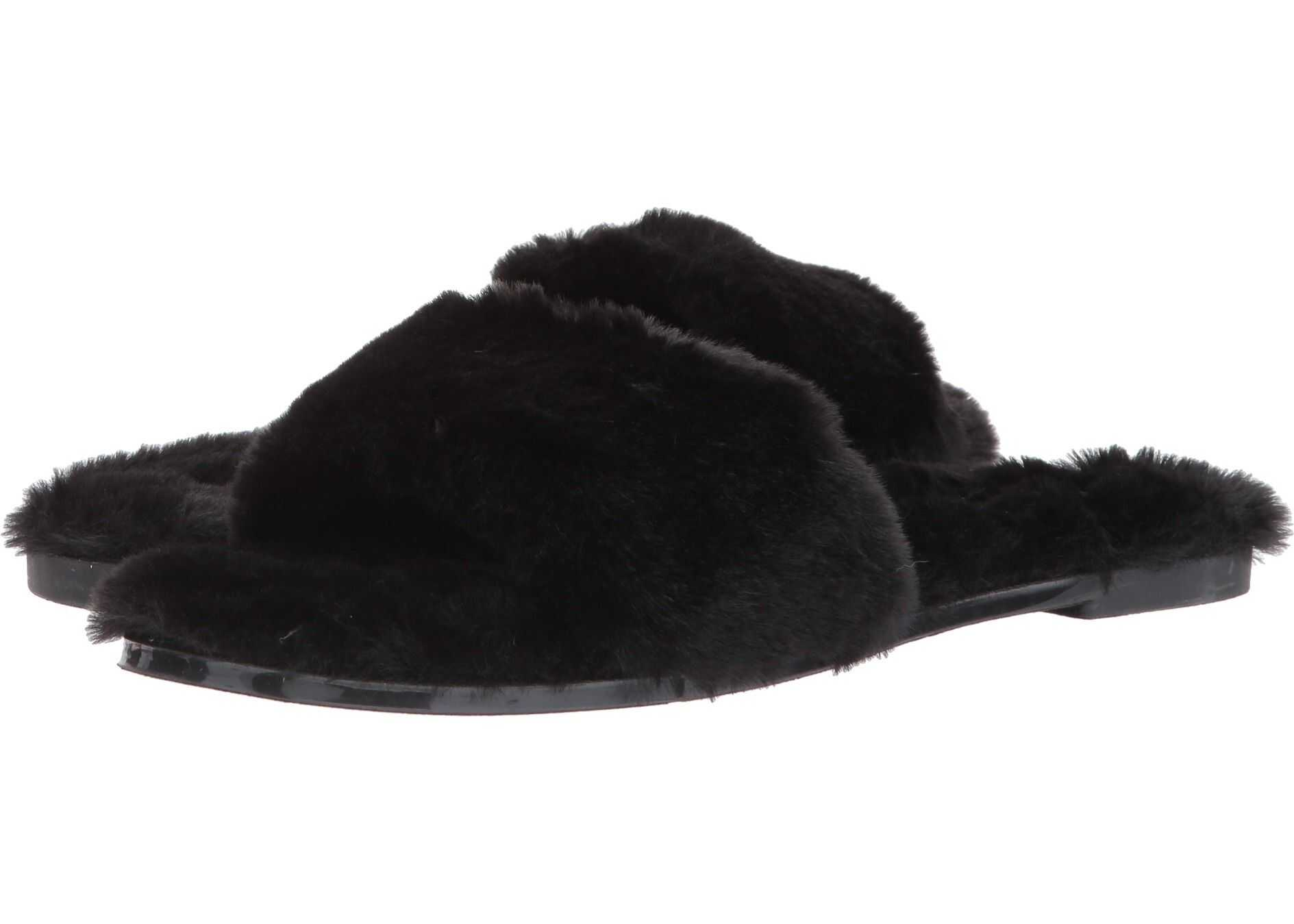 Chinese Laundry Mulholland Sandal Black Fur