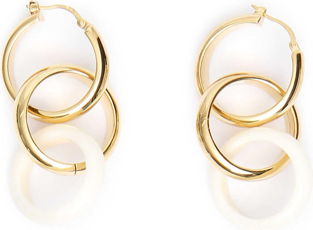 Bottega Veneta Bone Earrings NATURALE