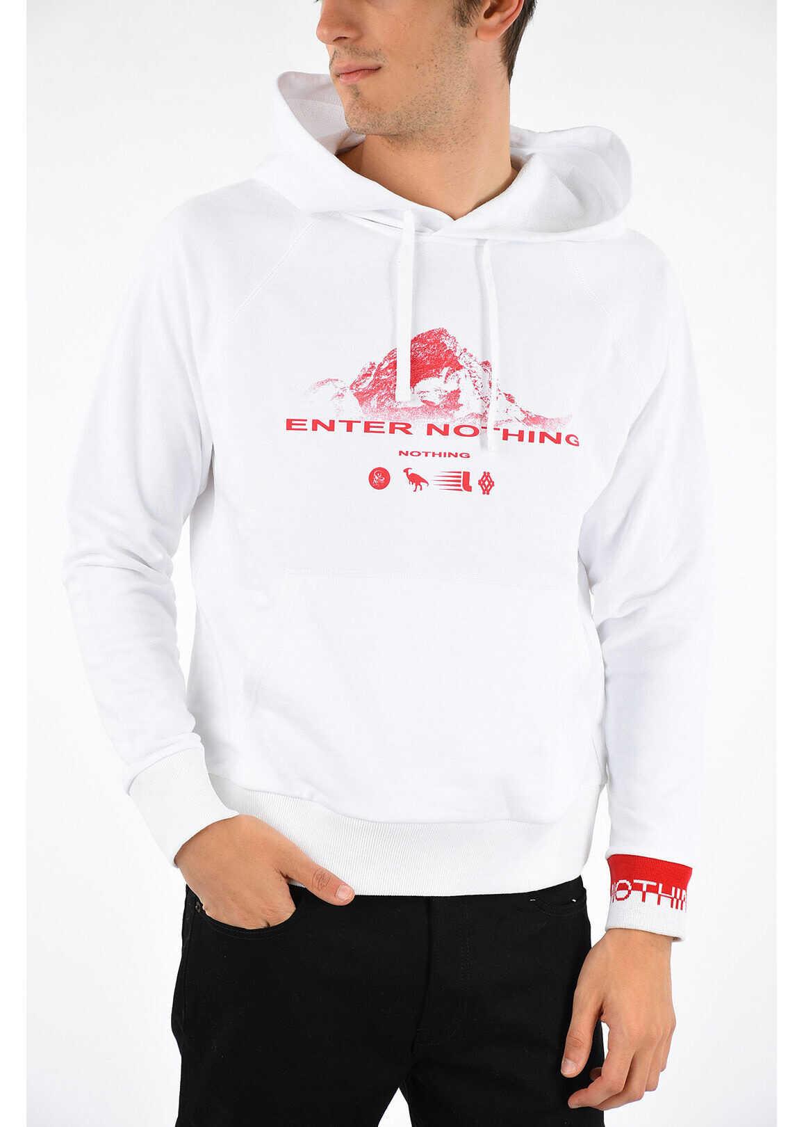 Lanvin Printed Sweatshirt WHITE