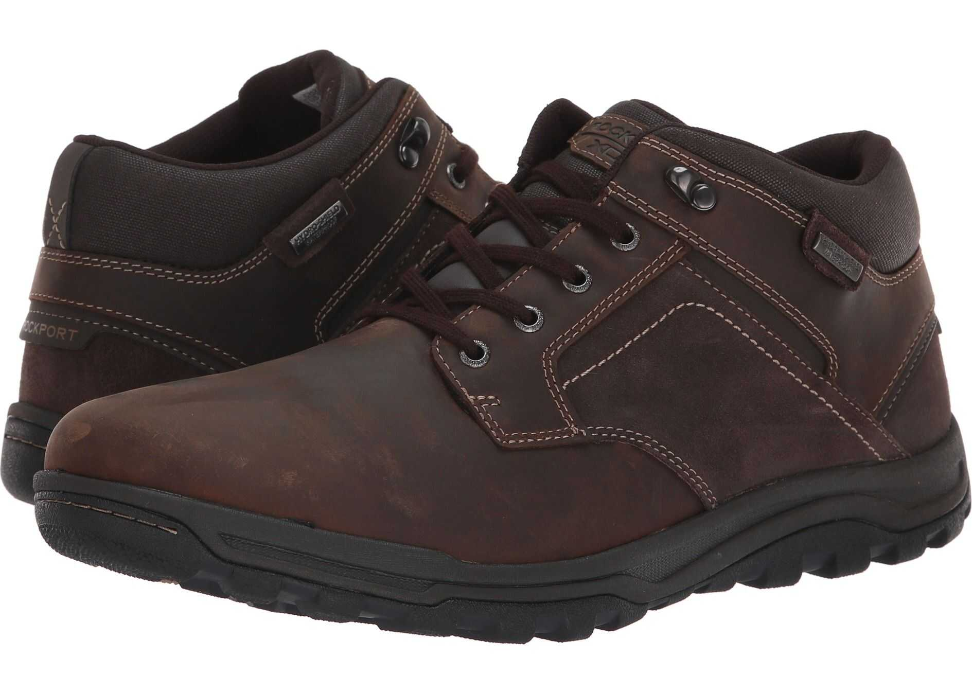 Rockport Harlee Waterproof Chukka Brown
