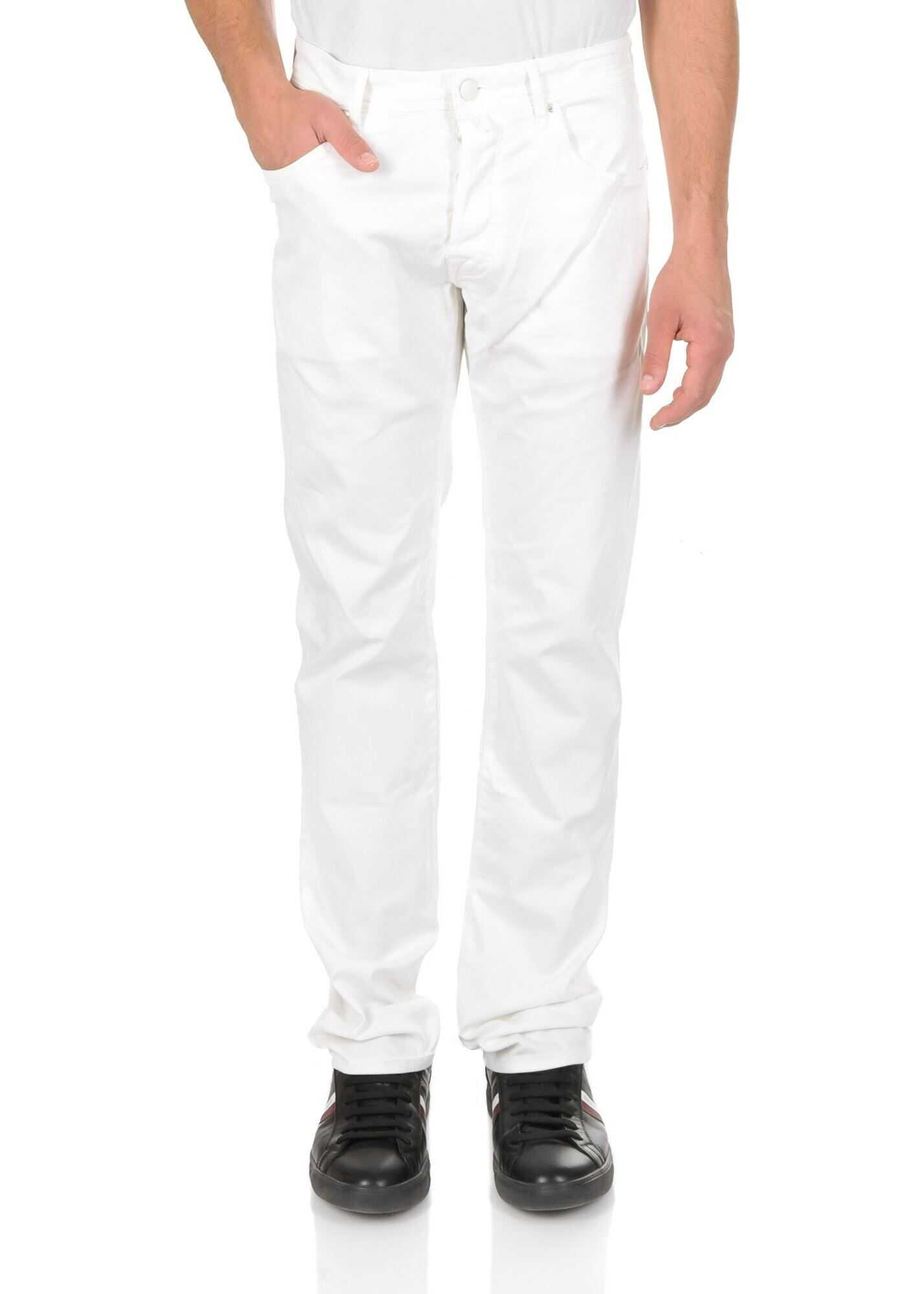Jacob Cohen 5-Pockets Jeans In Optical White* White