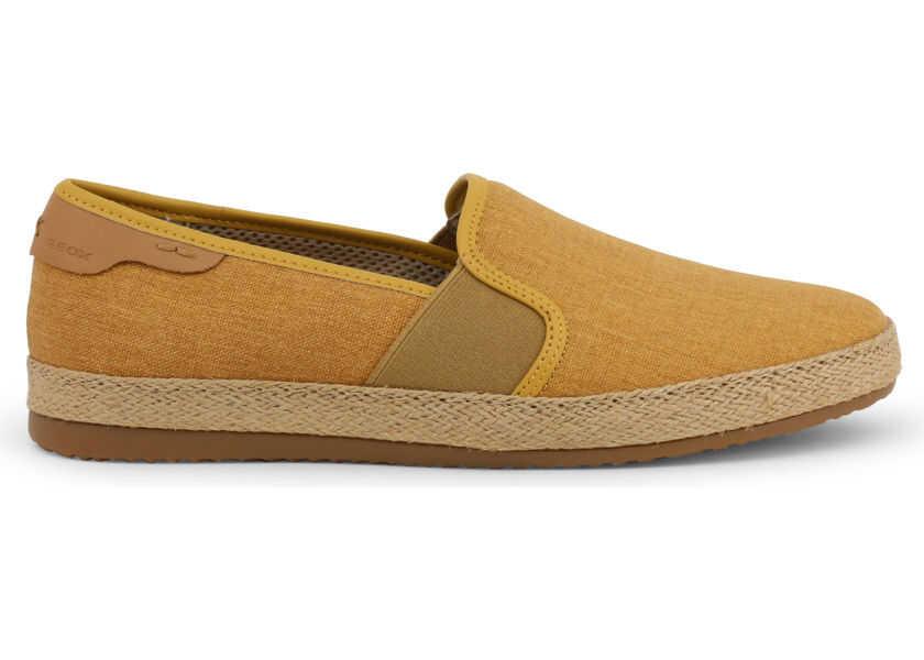 repentinamente pasatiempo Salvación  Pantofi slip-on Geox Copacabana YELLOW Barbati - Boutique Mall Romania