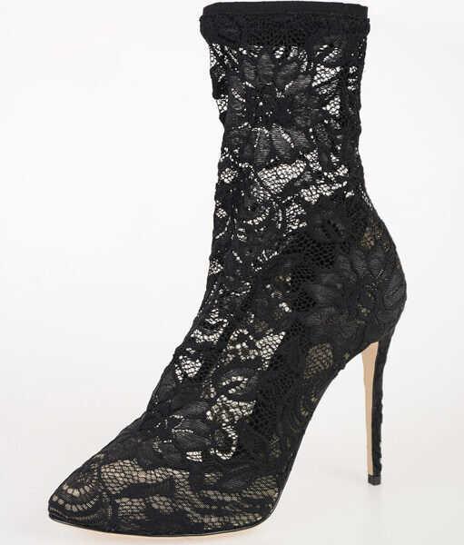 Botine Dama Dolce & Gabbana 11cm Laced Ankle Boots