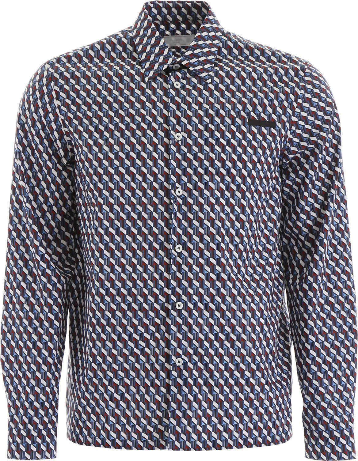 Prada Printed Shirt AVIAZIONE