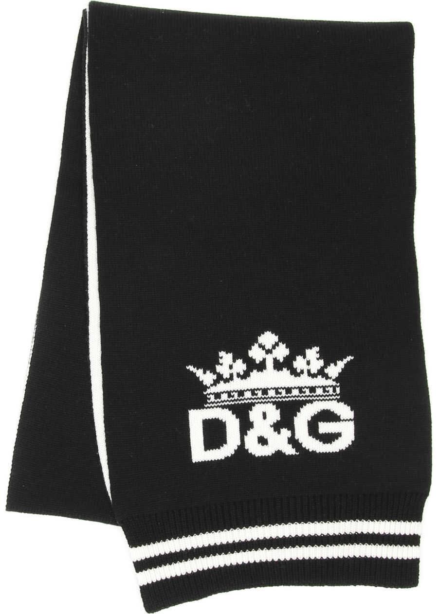 Dolce & Gabbana D&G Tricot Scarf VARIANTE ABBINATA