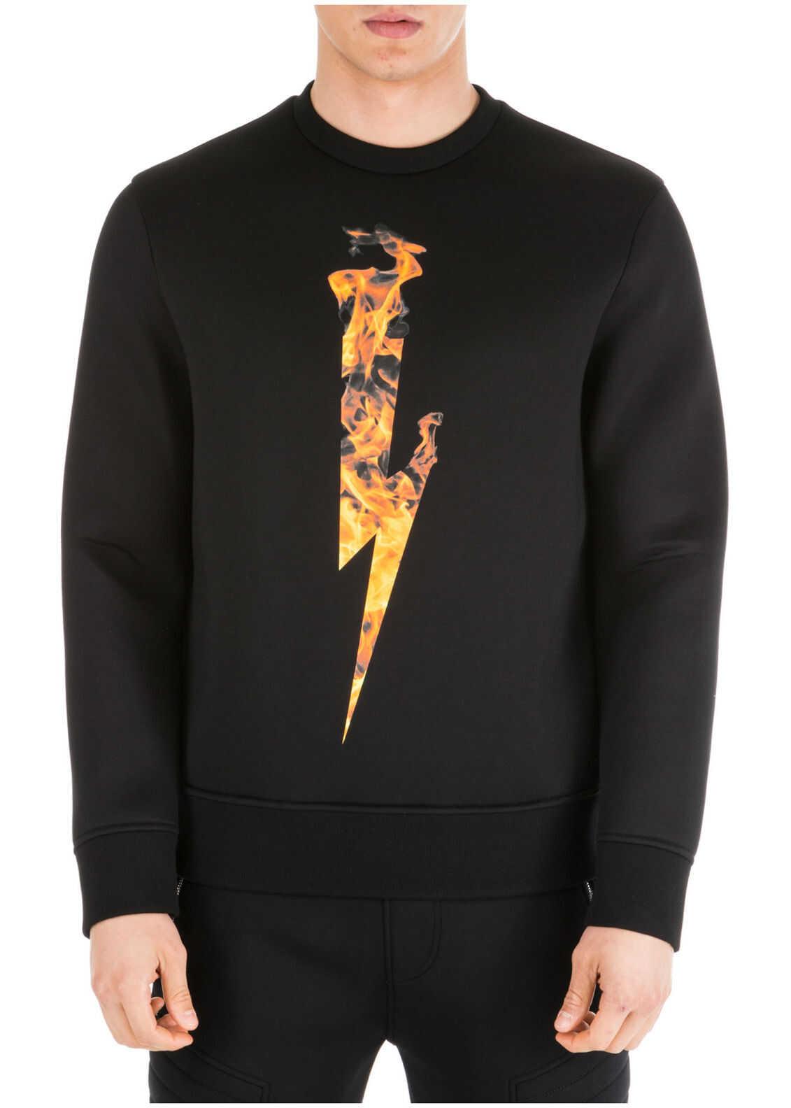 Neil Barrett Sweatshirt Sweat Black