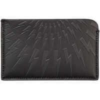 Portofele Genuine Leather Credit Card Case Holder Wallet Thunderbolt Fair-Isle Barbati