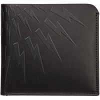 Portofele Genuine Leather Wallet Credit Card Bifold Thunderbolt Fair-Isle Barbati