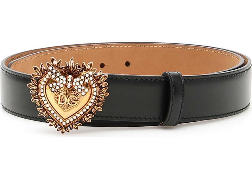 Dolce & Gabbana Devotion Belt NERO