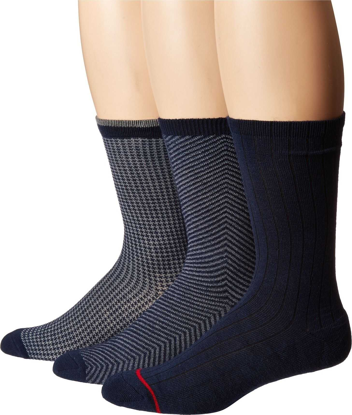 UGG Dominic Crew Socks Gift Set Navy Multi