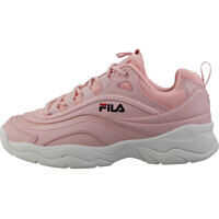 Sneakers Fila Ray Low Fashion Trainers In Pink White*
