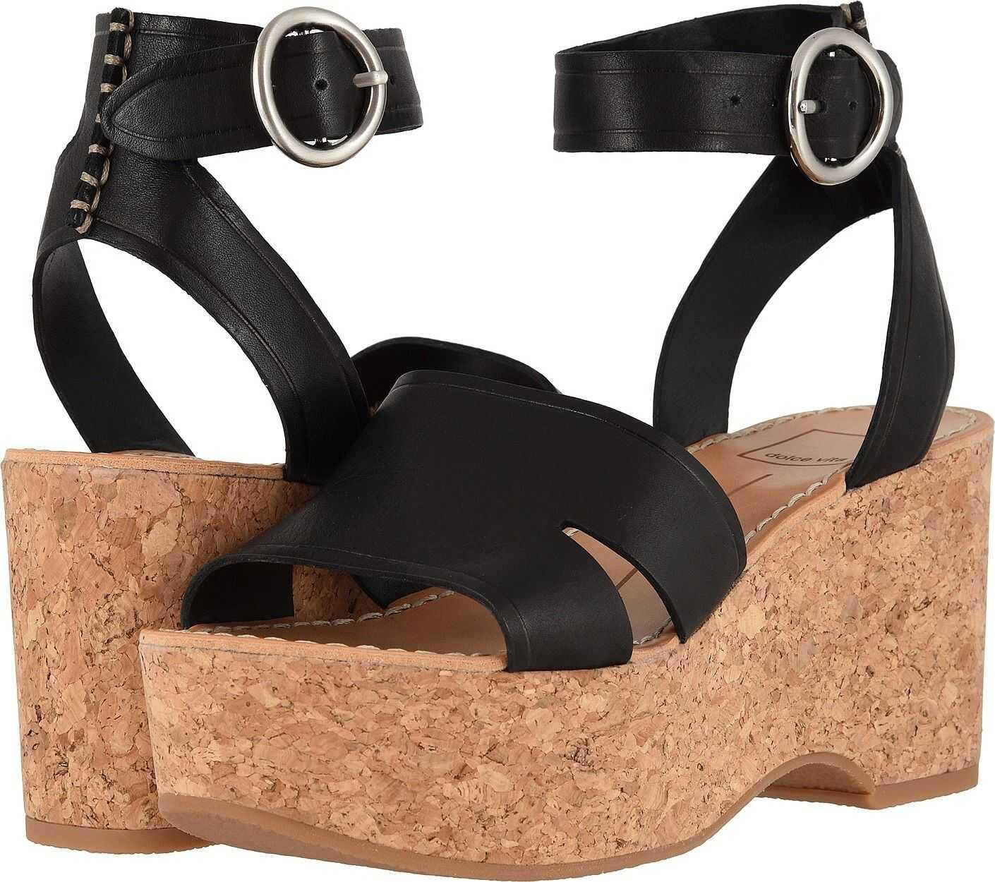 Dolce Vita Linda Black Leather