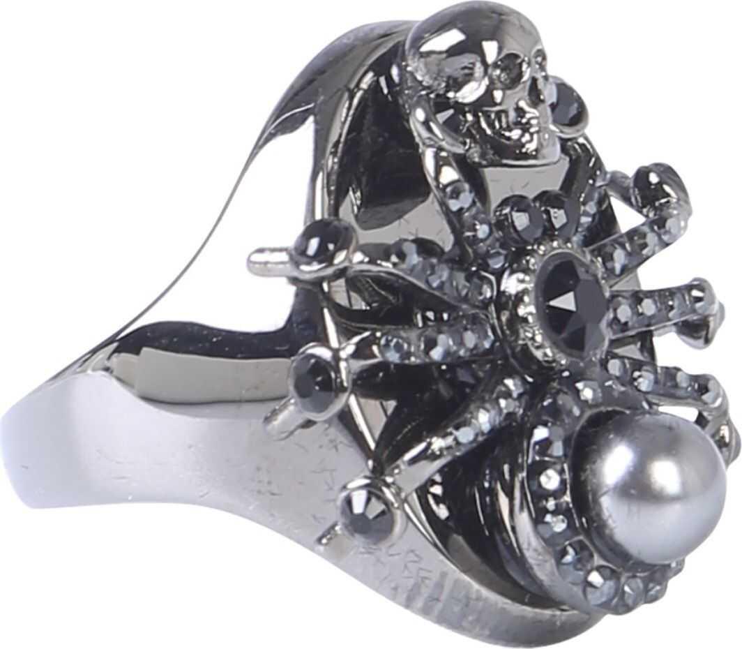 Alexander McQueen Spider Ring GREY