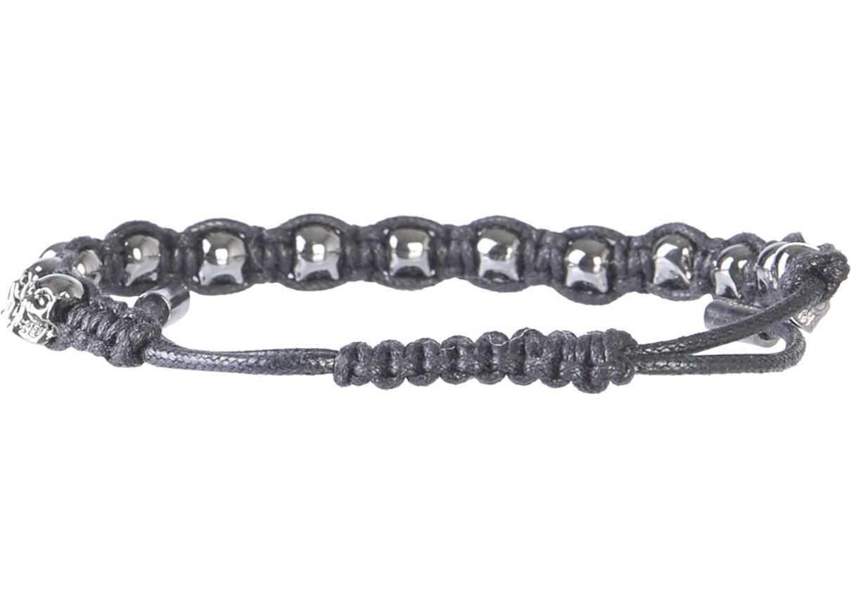 Alexander McQueen Multi Skull Bracelet GREY