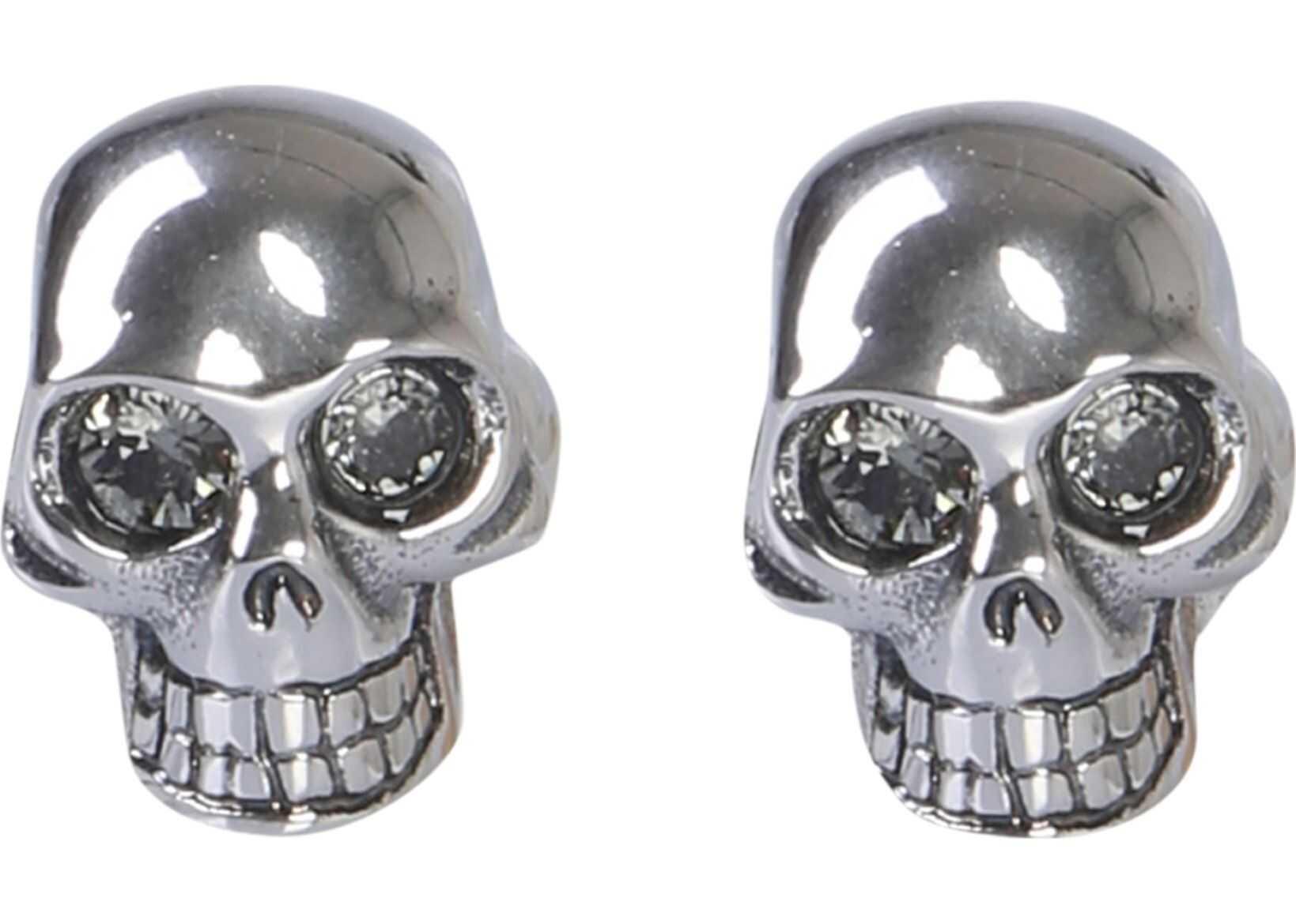 Alexander McQueen Skull Cufflinks GREY