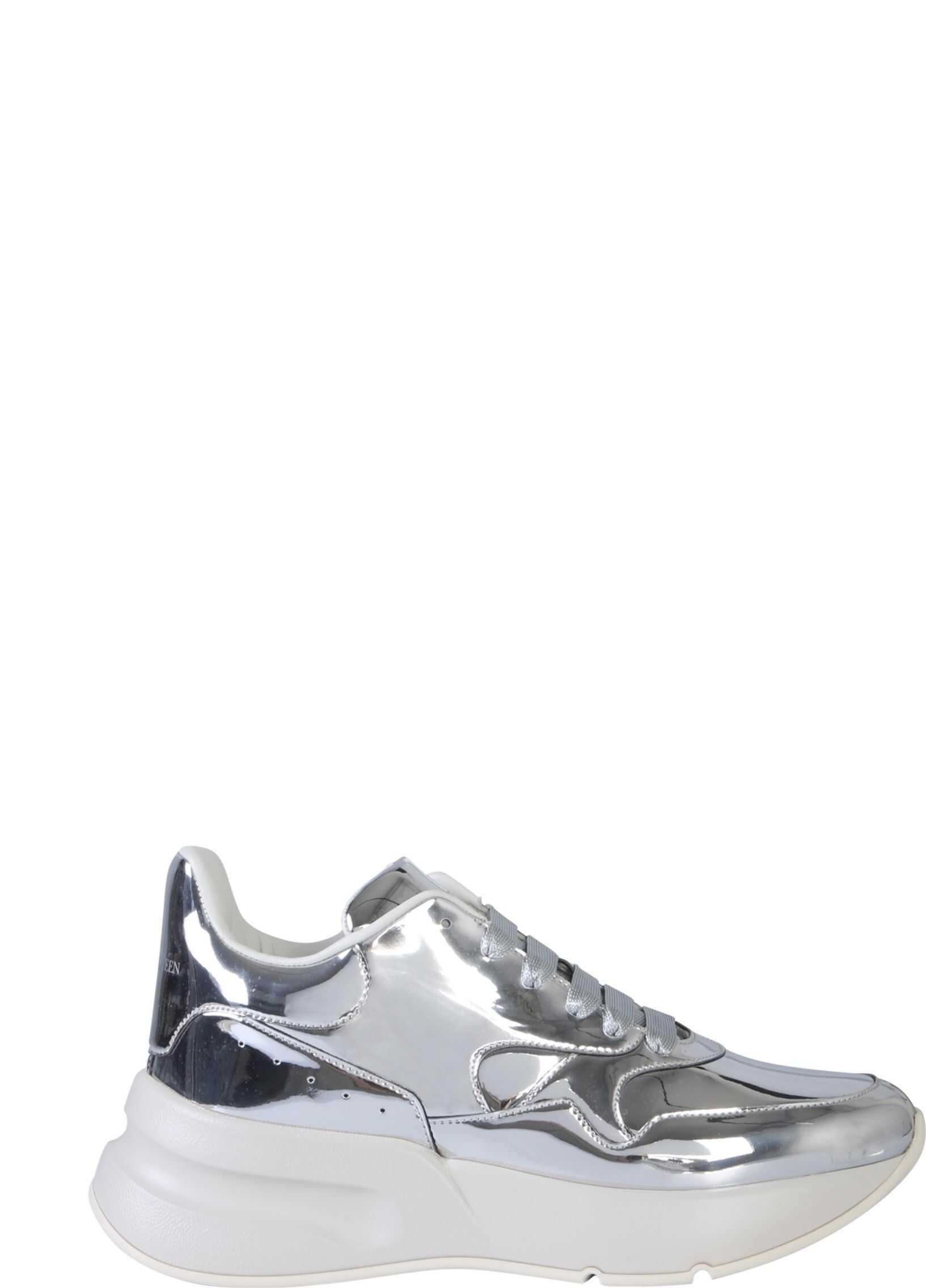 Alexander McQueen Oversize Runner Sneakers GREY