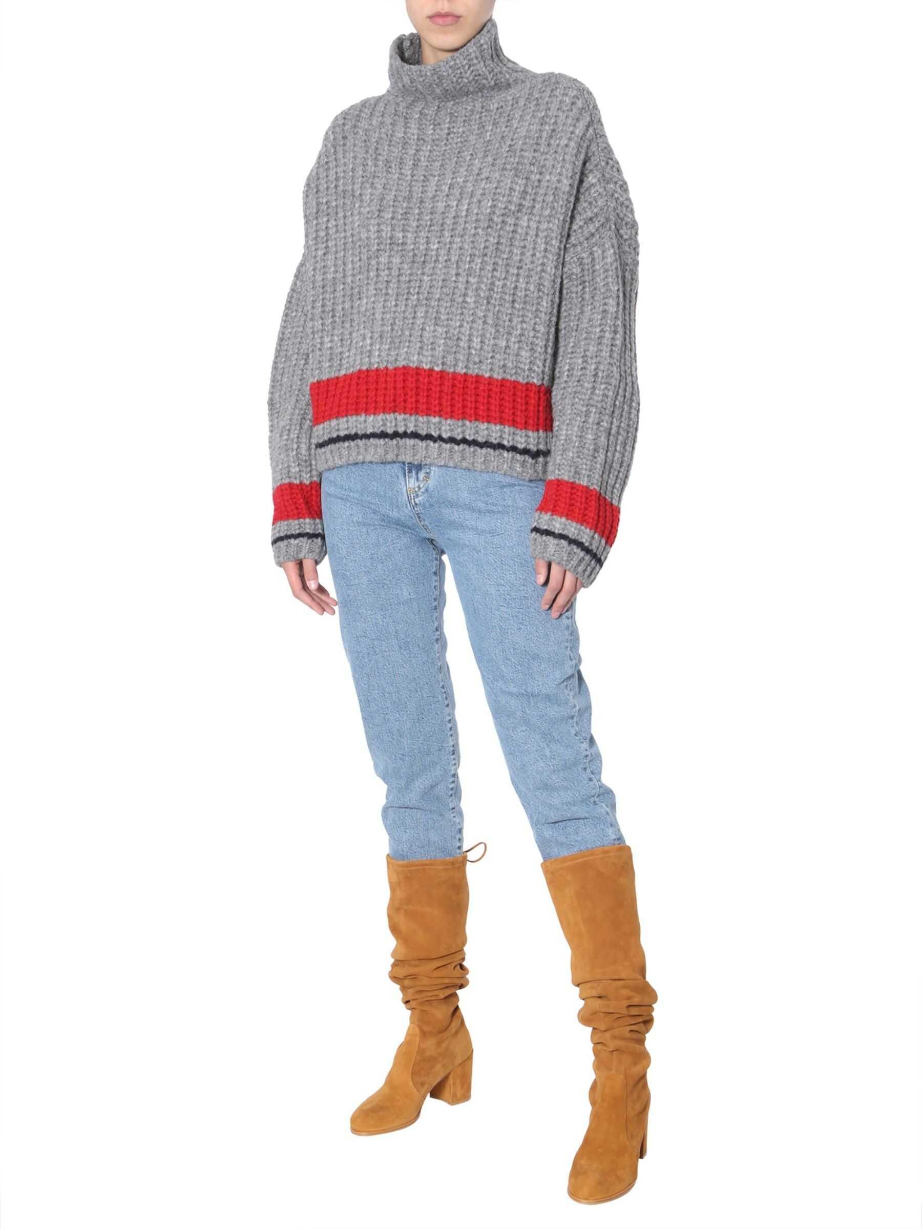 DSQUARED2 Turtleneck Sweater GREY