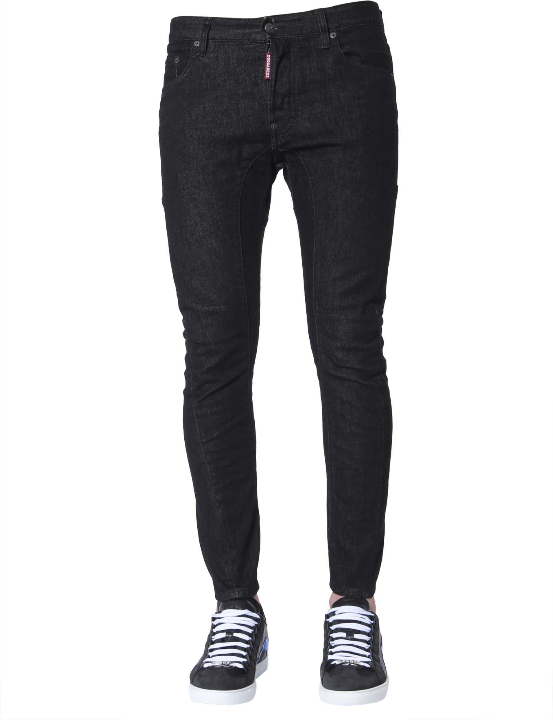 DSQUARED2 Tidy Biker Jeans BLACK